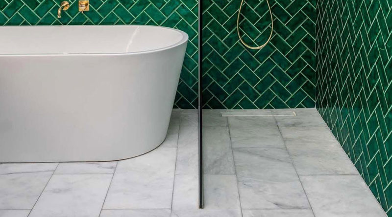 Piso para banheiro: como escolher, dicas e fotos inspiradoras