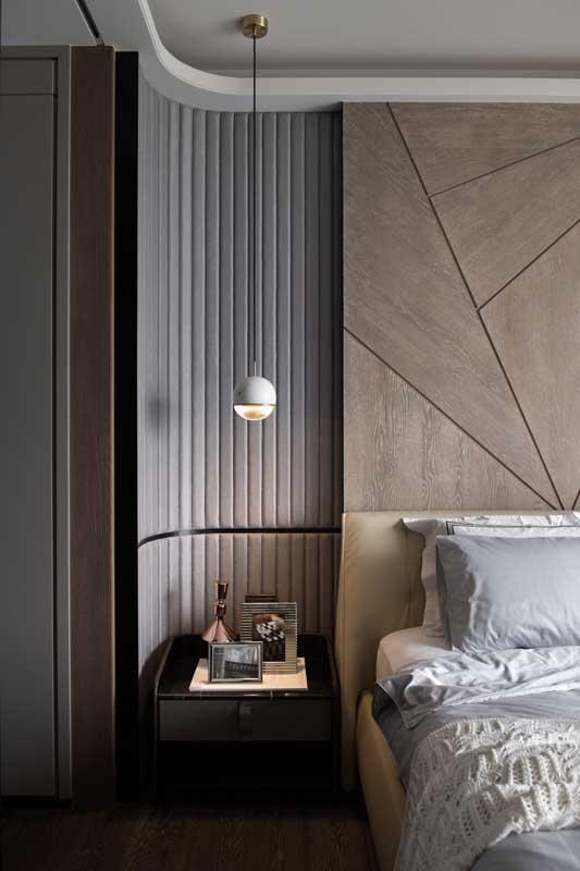 Que charme essa parede com canto arredondado! Detalhes que fazem a diferença!