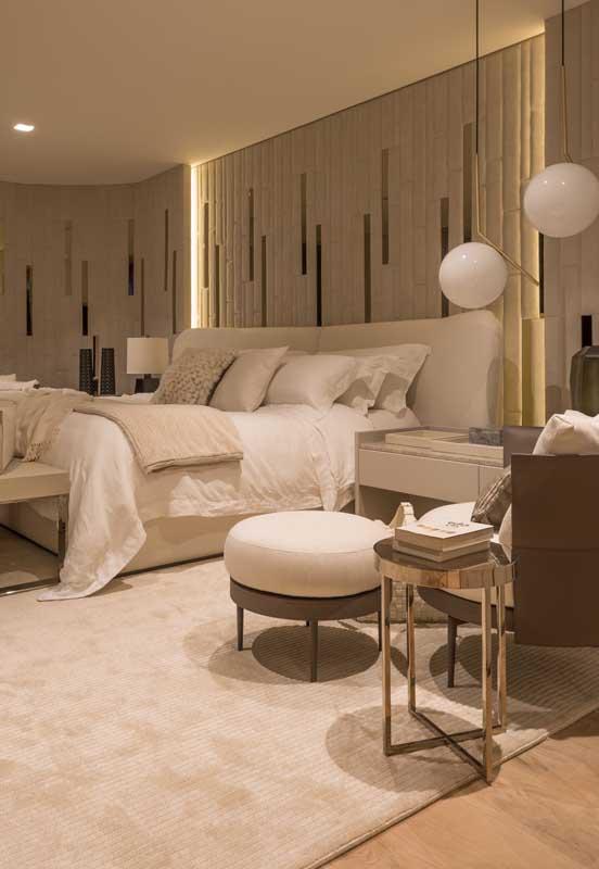 Um quarto de luxo desses e você nem precisa mais sair de dentro dele!