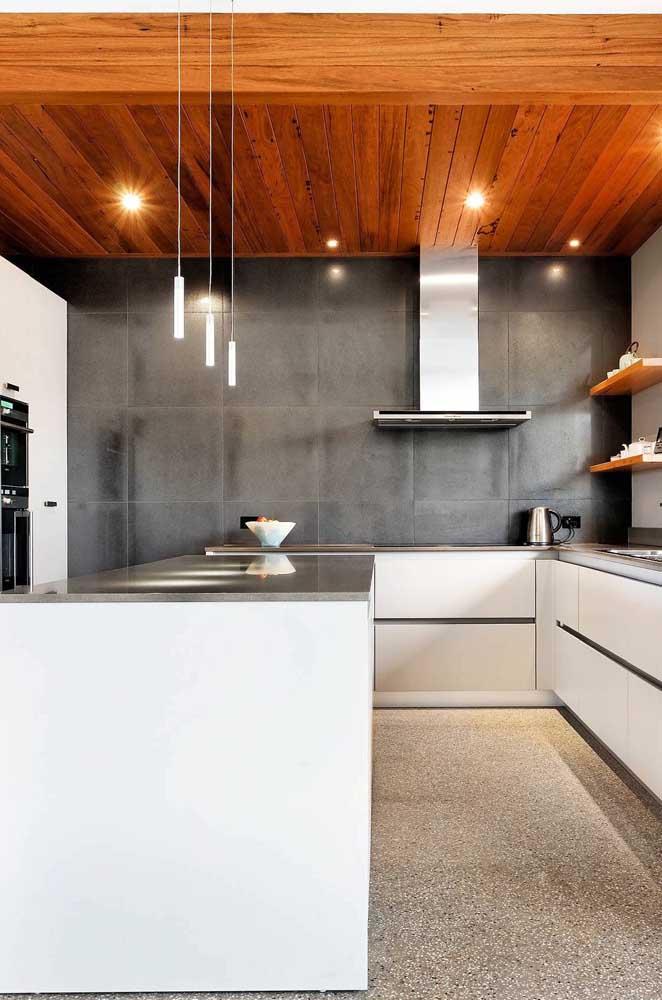 Azulejo com efeito de cimento queimado para a cozinha moderna