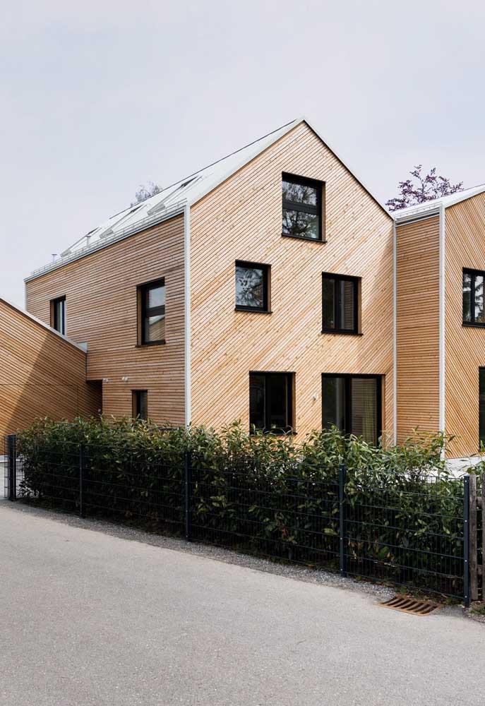 Revestimento de madeira para a casa moderna: conforto e estética na medida