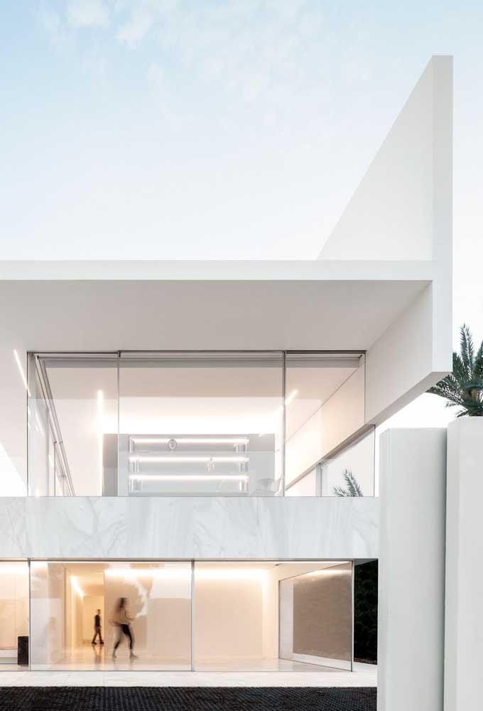 Casa moderna, minimalista e que esbanja sofisticação
