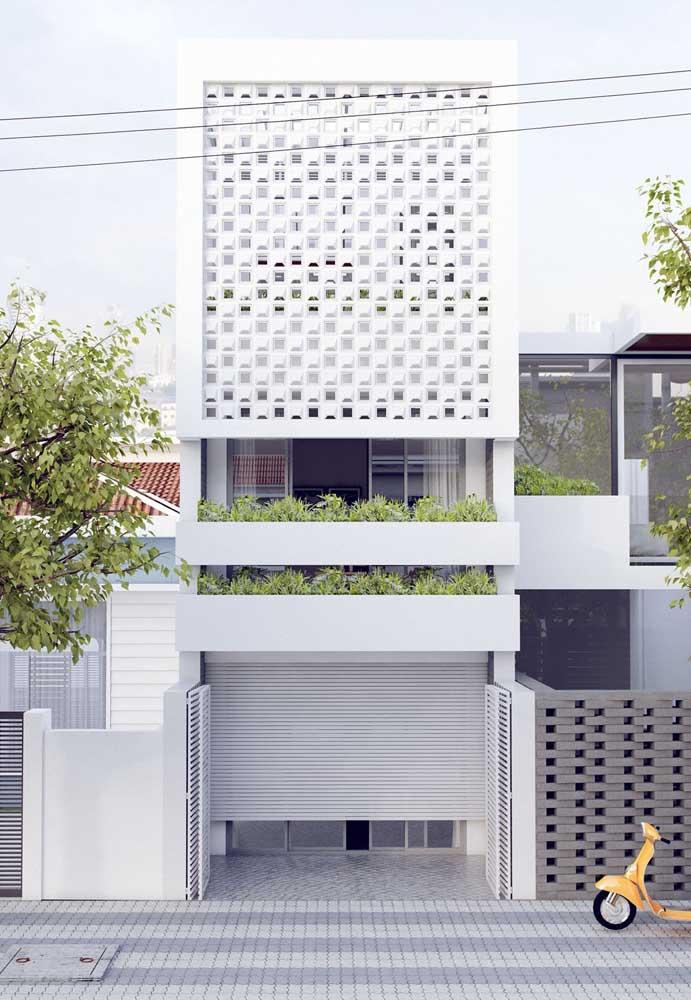 Os cobogós são uma ótima opção para permitir a passagem de luz nas casas modernas