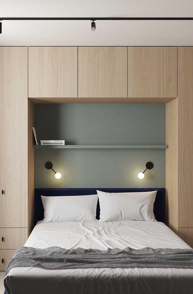 Moderno e simples, mas sem deixar de ser confortável e funcional