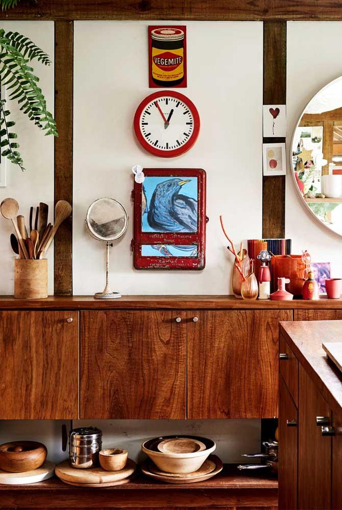 A decoração rústica faz bem pro coração!