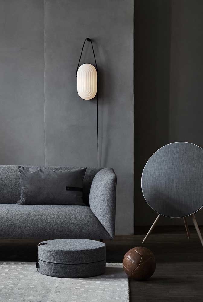 Luminária de parede para sala: conforto e aconchego, sem perder em nada o design
