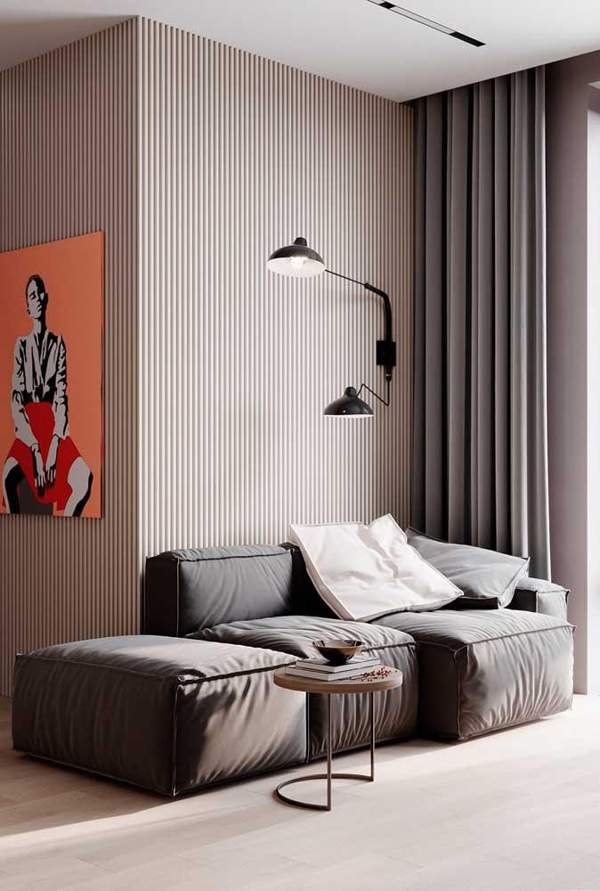 Luminária de parede e luminária embutida no teto: mais de uma opção para garantir a luz ideal dependendo da sua necessidade