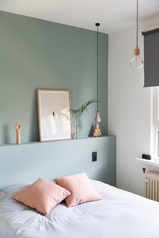 Quadro para quarto de casal com tema minimalista e moderno
