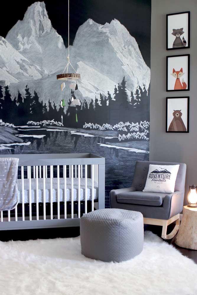Trio de quadros para o quarto de bebê