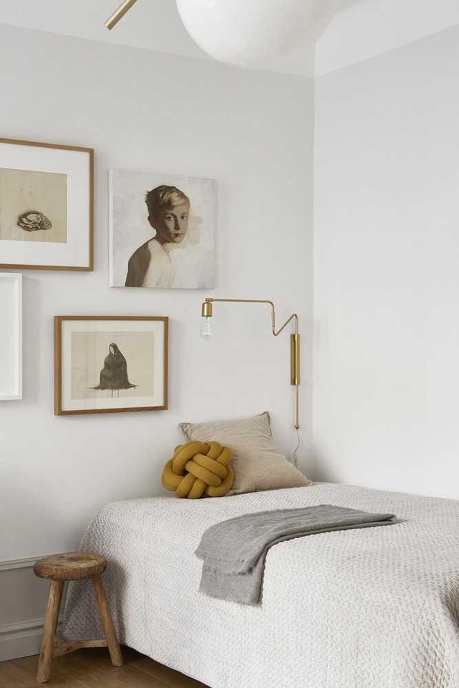 Composição de quadros para quarto de menino