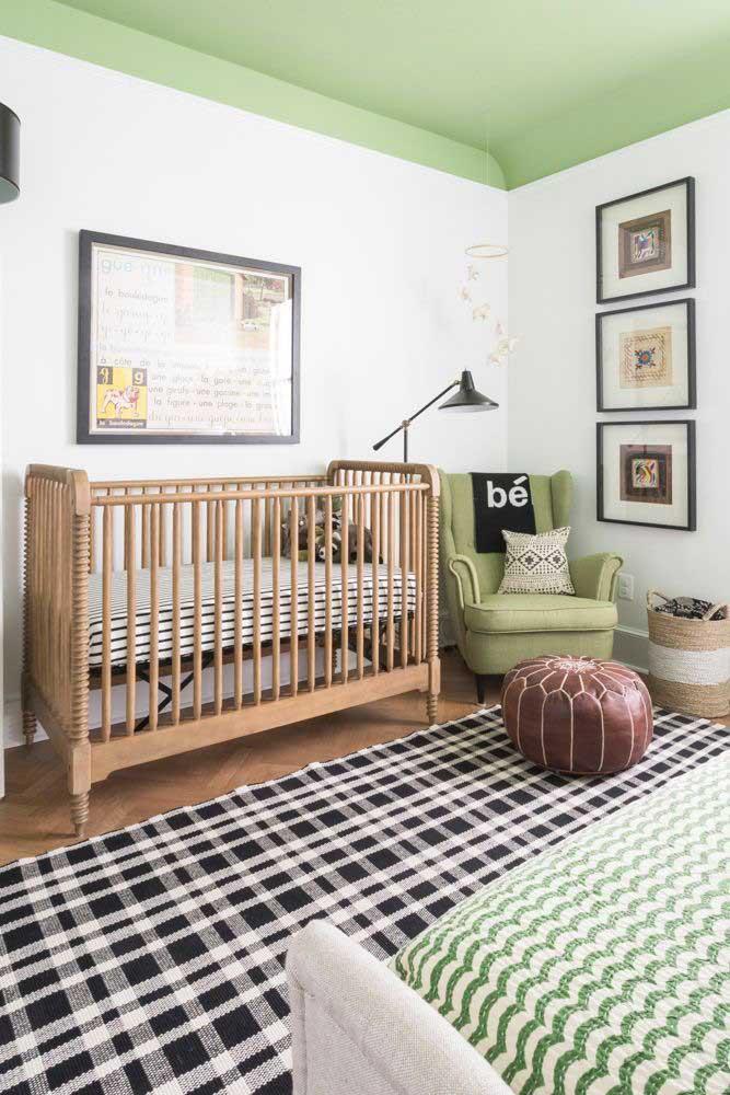 Quadros para quarto de bebê nem sempre precisam ser tão infantis