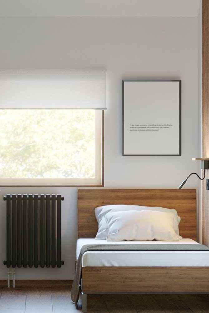Quadro para quarto em estilo minimalista