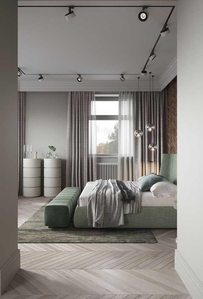 A modernidade do cinza com o frescor do verde