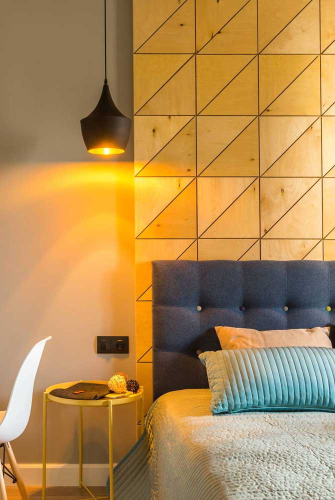 Amarelo para trazer conforto ao quarto