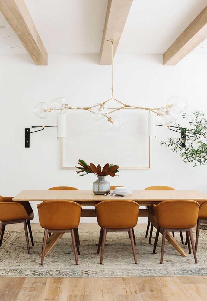 Tons terrosos e materiais naturais para criar uma decoração rústica e moderna