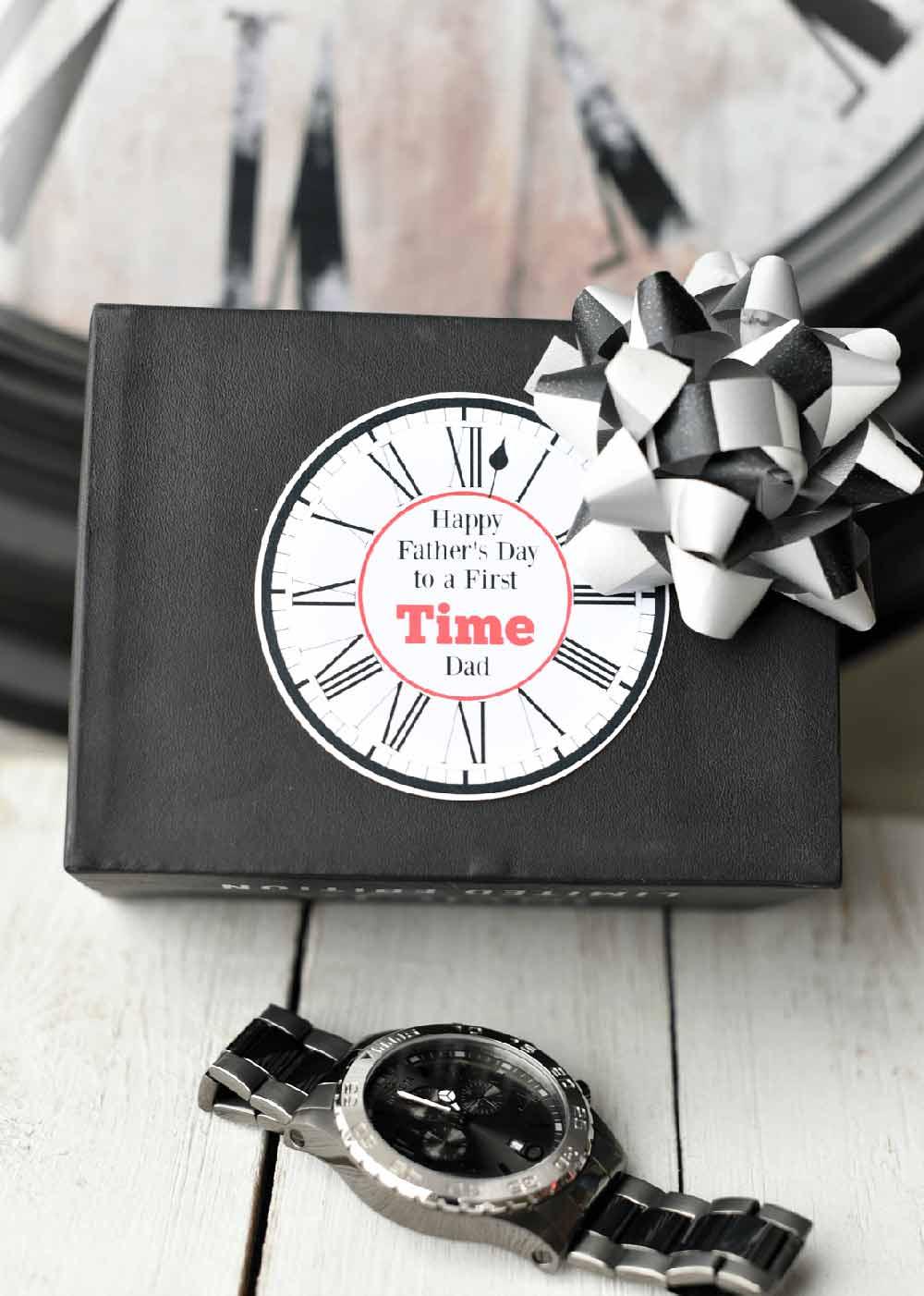 Ideia de presente para o dia dos pais: um lindo relógio!