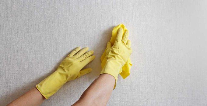 Como limpar parede suja