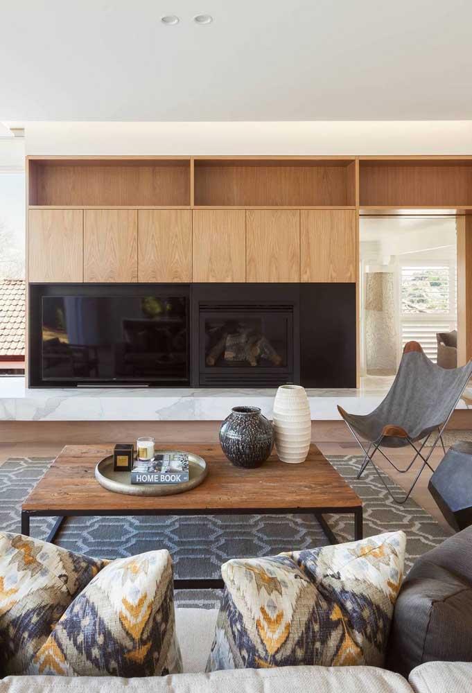 Nichos de madeira: outro clássico que se encaixa em qualquer decoração