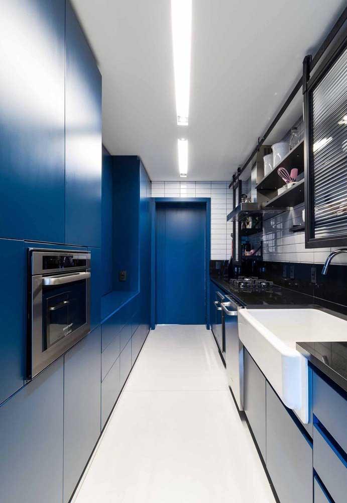 Os pisos monolíticos são a melhor opção para as cozinhas pequenas