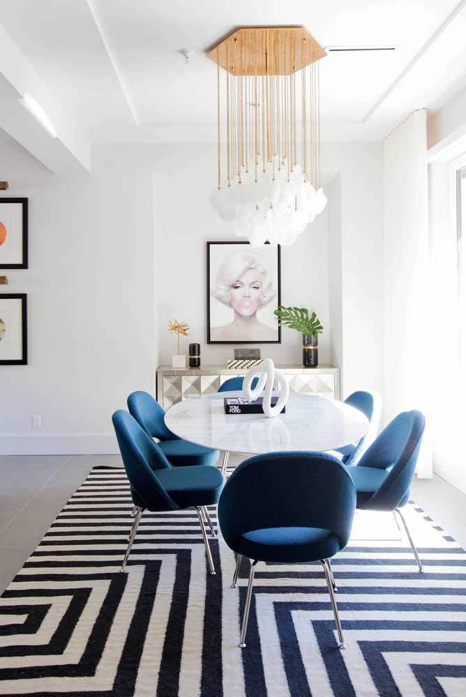 Quadro minimalista para sala de jantar moderna