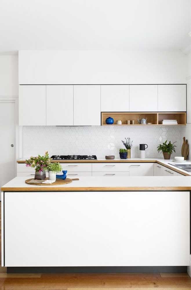 Os móveis sob medida deixam a cozinha mais bonita e organizada