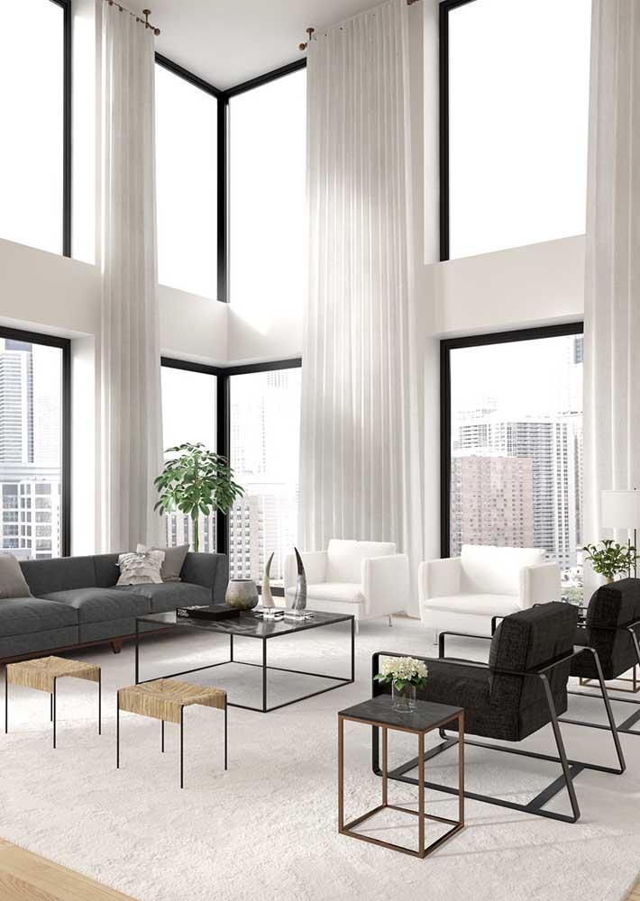 Poltronas e sofá em perfeita sintonia