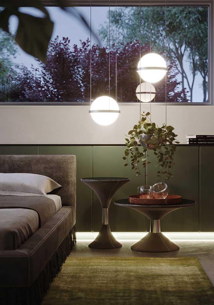 Luminárias para trazer conforto e acolhimento