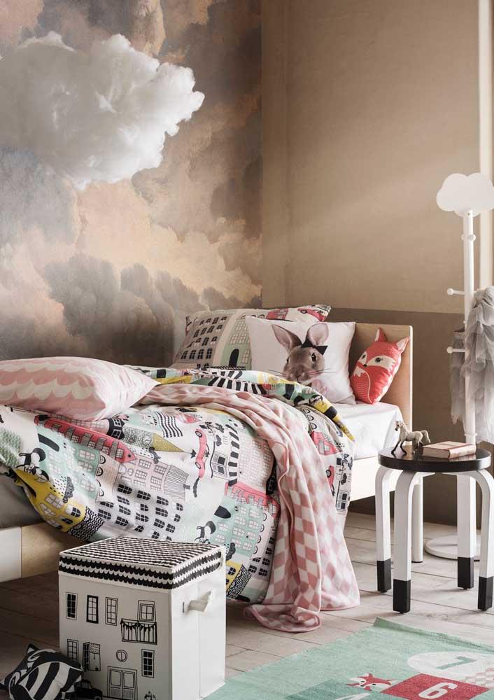 A roupa de cama é item fundamental na decoração do quarto