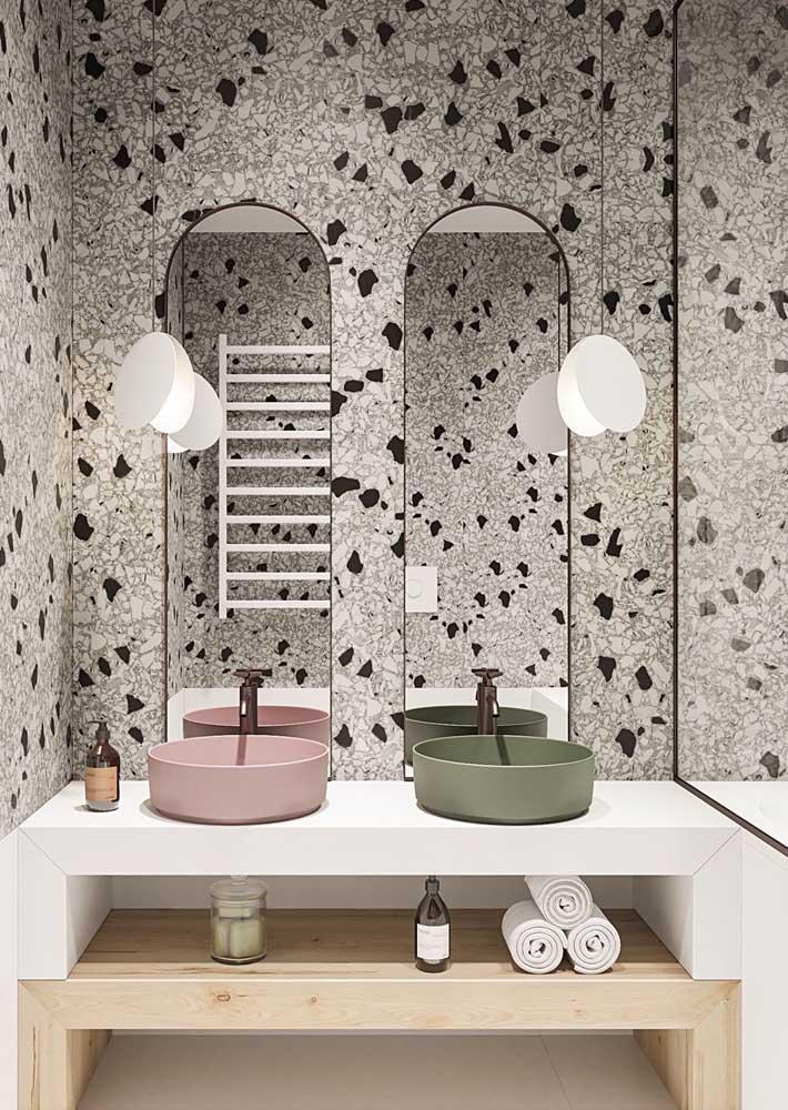Granilite para um banheiro moderno