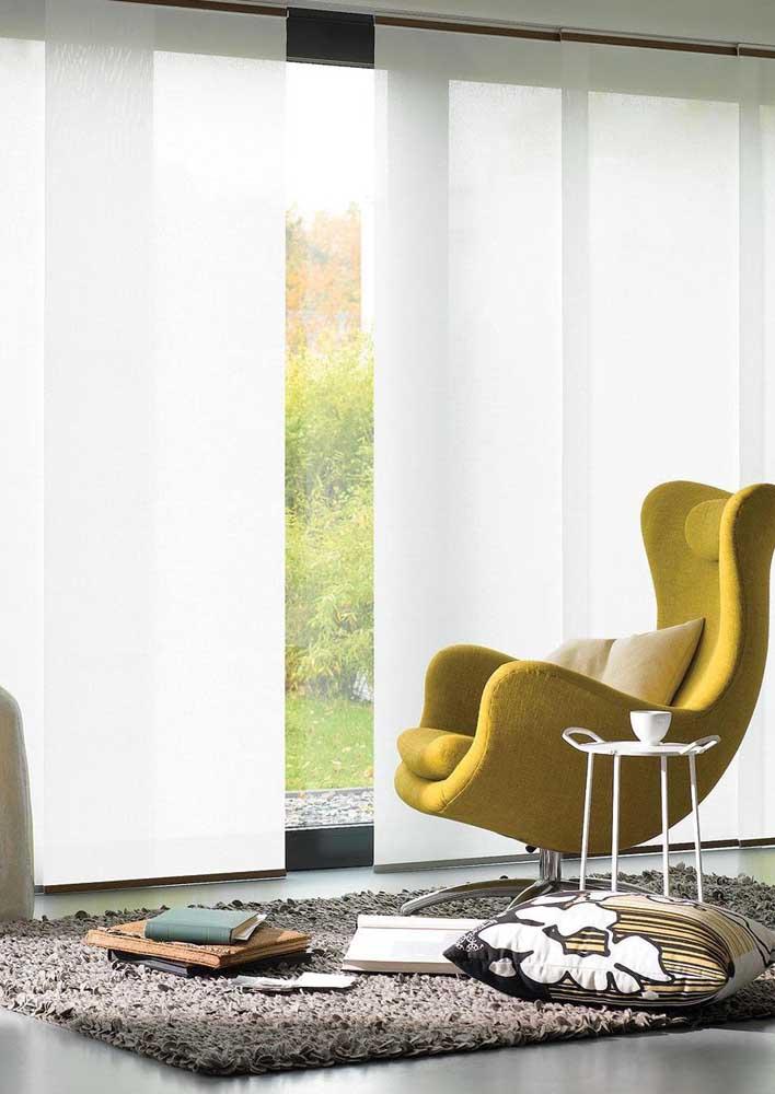 Cortina painel: elegância e modernidade para suas paredes
