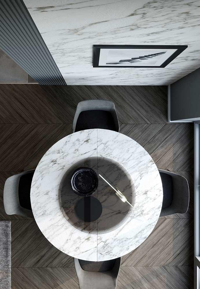Carrara gioia para o tampo da mesa de jantar