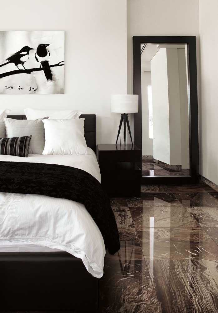 Mármore marrom imperial para o piso do quarto