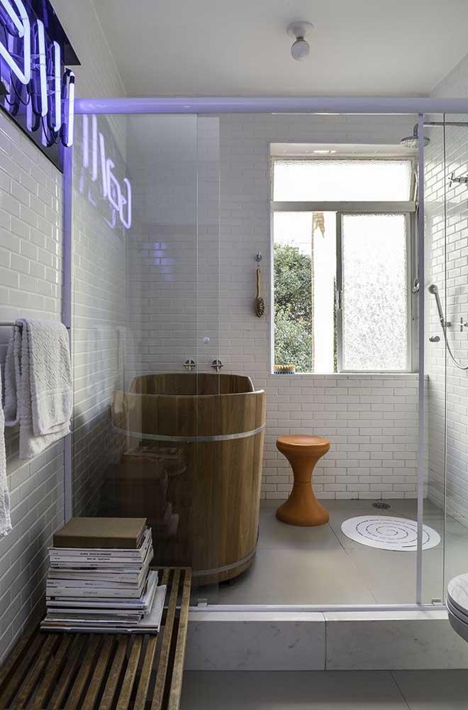 Ôfuro para um banho de imersão super relaxante