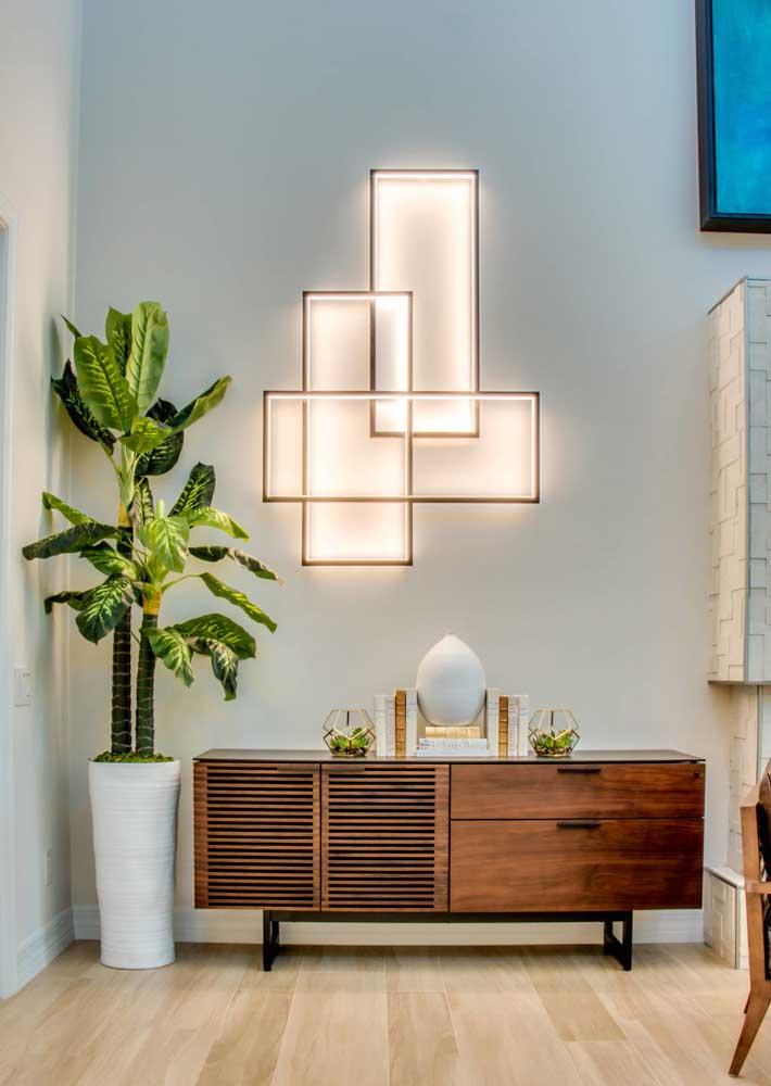 Preencha os espaços vazios da sala com plantas