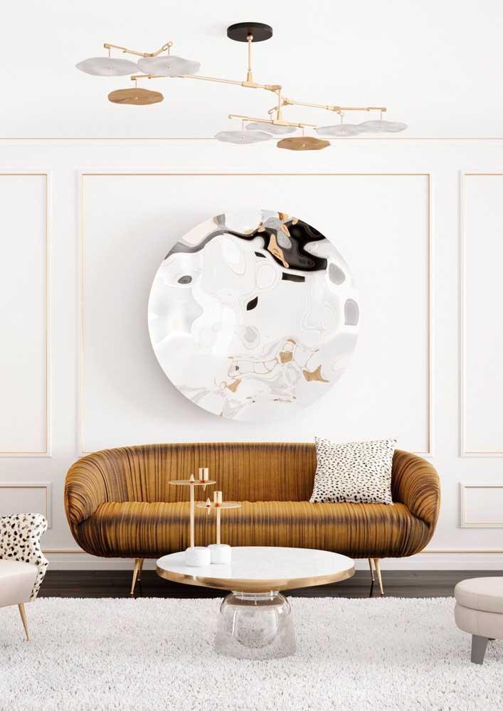 Aquele sofá para arrasar na decoração!