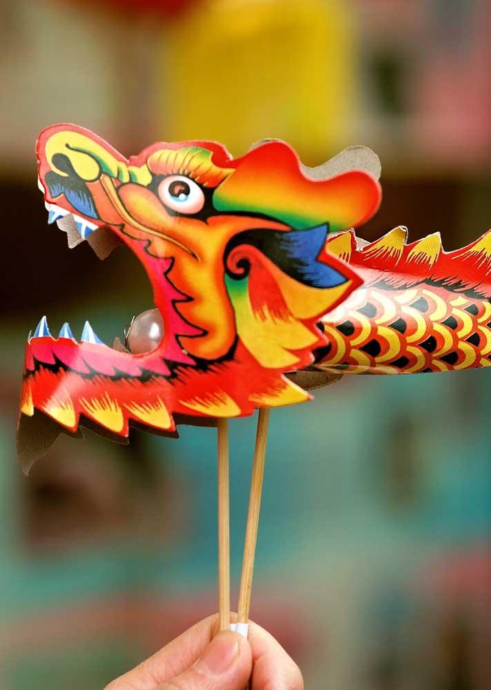 Dragão: um ícone das festas de ano novo chinês