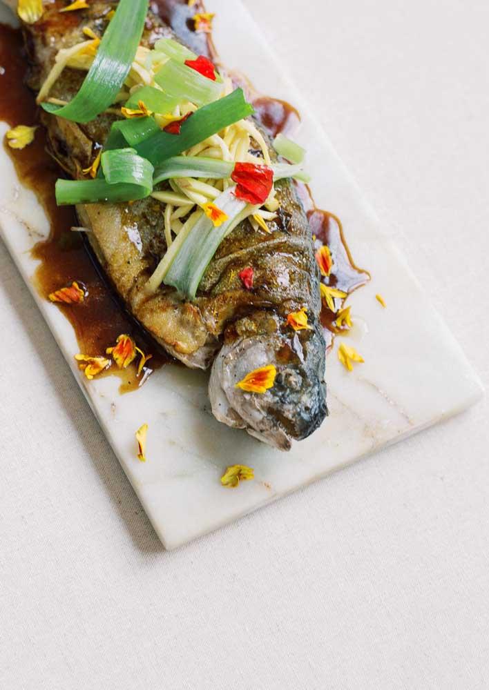Peixe: prato típico chinês