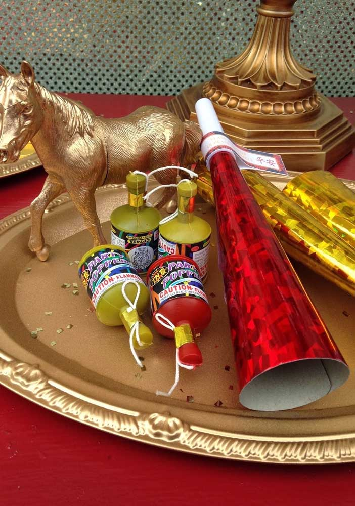 Coloque o animal regente do ano em destaque na decoração do ano novo chinês