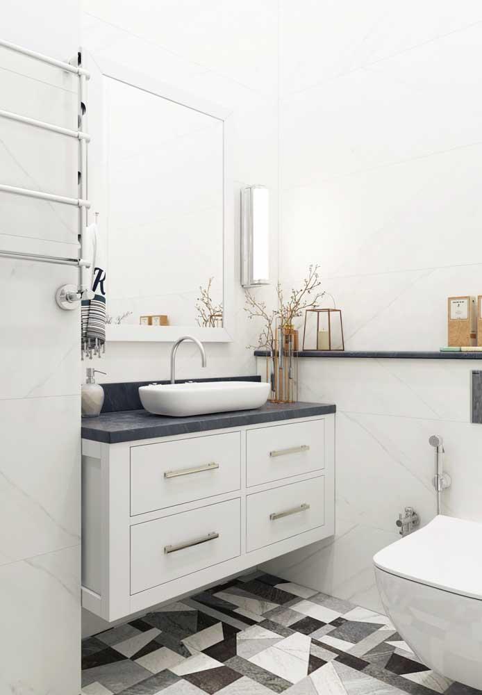 Armário aéreo para banheiro: facilita a limpeza e a manutenção