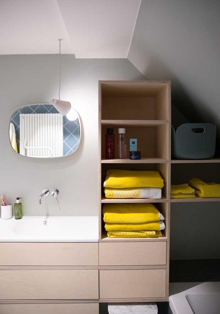 Armário de MDF para banheiro: resistente e cheio de possibilidades estéticas
