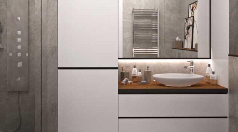 Armário para banheiro: como escolher, dicas e fotos incríveis para se inspirar