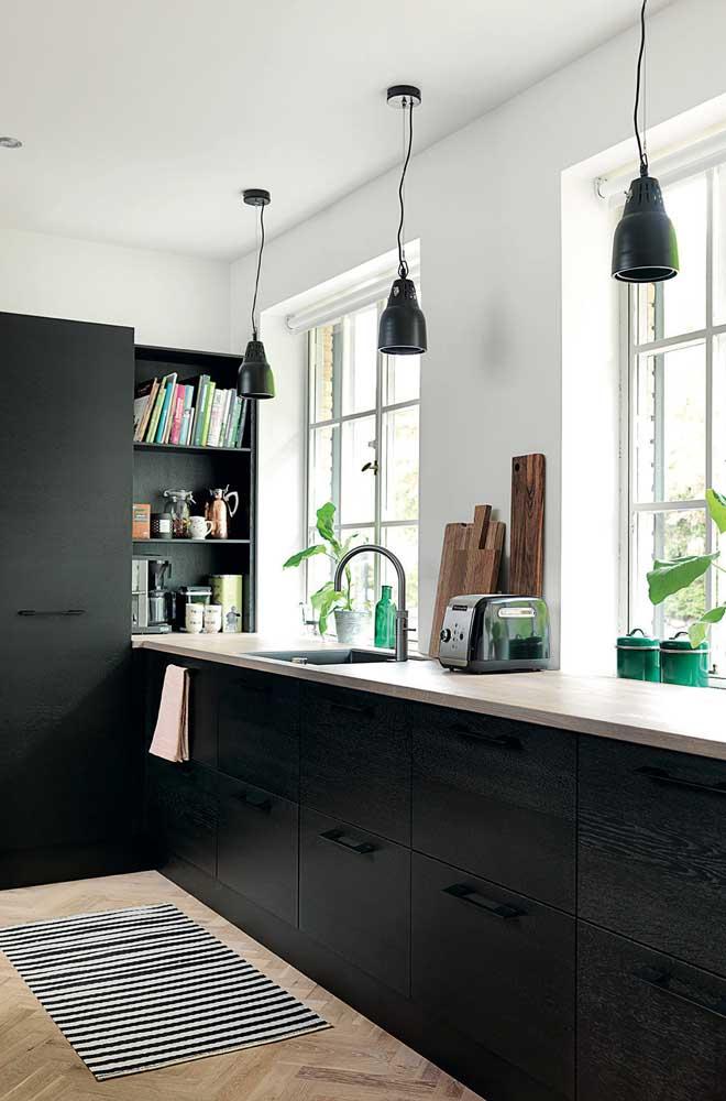 O nicho da cozinha pode ser um ótimo lugar para você montar um cantinho do café
