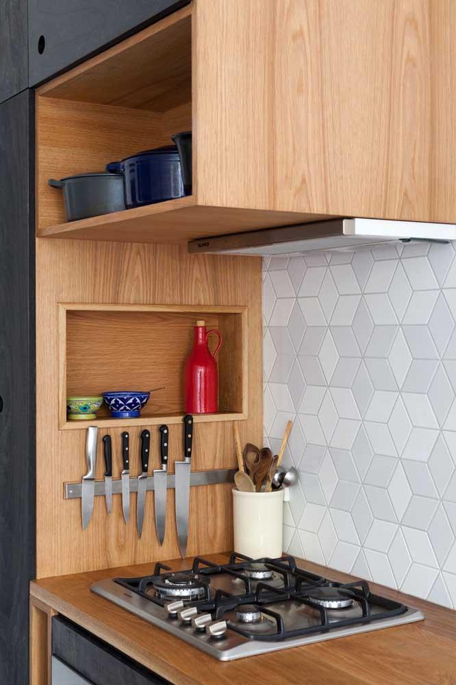 Nicho para cozinha pequena: uma das melhores soluções para espaços pequenos
