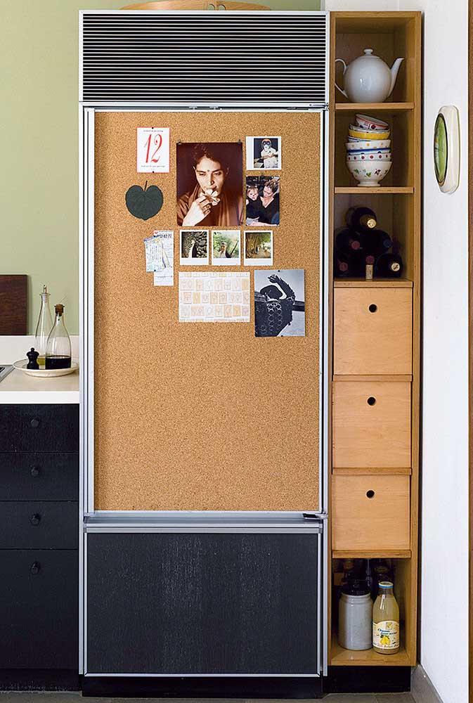 Aquele cantinho ao lado da geladeira pode ser mais útil do que você imagina