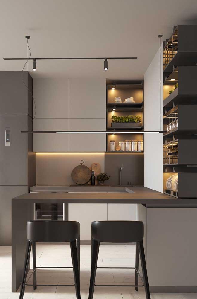 Nicho para cozinha planejada americana: um complemento perfeito para a decoração