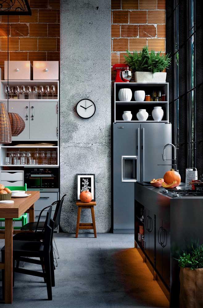 Os nichos podem ser comprados e instalados depois da cozinha pronta