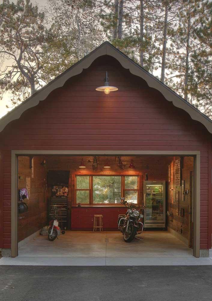Um piso especial pensado exclusivamente para a garagem