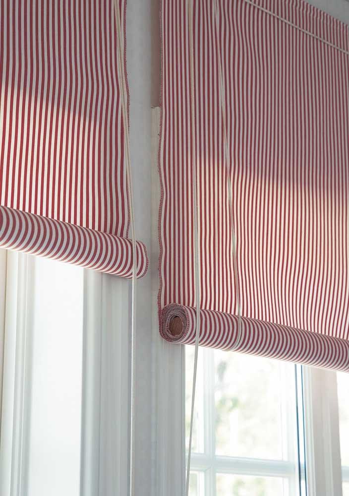 Cortina tipo persiana para você fazer em casa