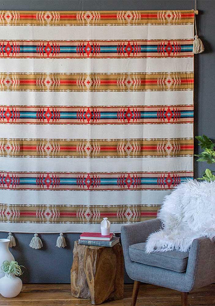 Flores rústicas de tecido para criar decorações lindas