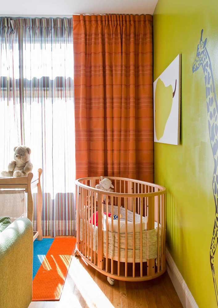Cortina para quarto de bebê: ouse nas estampas e crie um ambiente mais lúdico e divertido